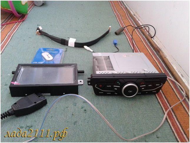 Фото №17 - камера заднего вида на ВАЗ 2110