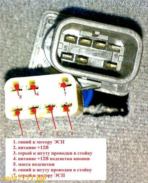 стеклоподъемника ВАЗ 2110