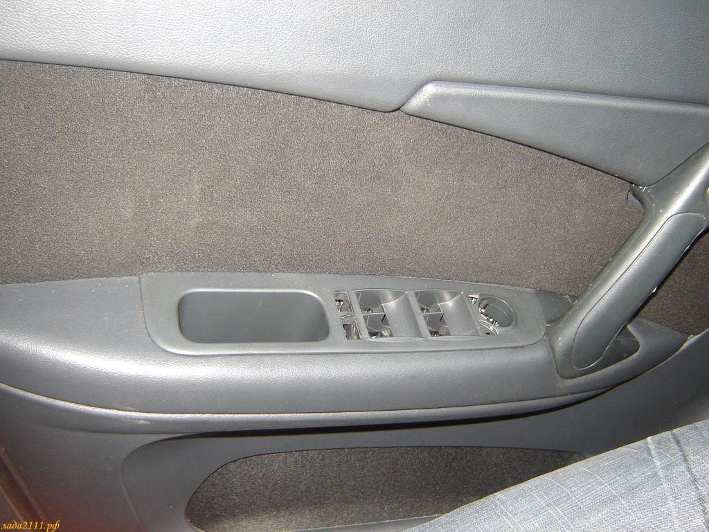 дверной карман от Приоры в ВАЗ 2110