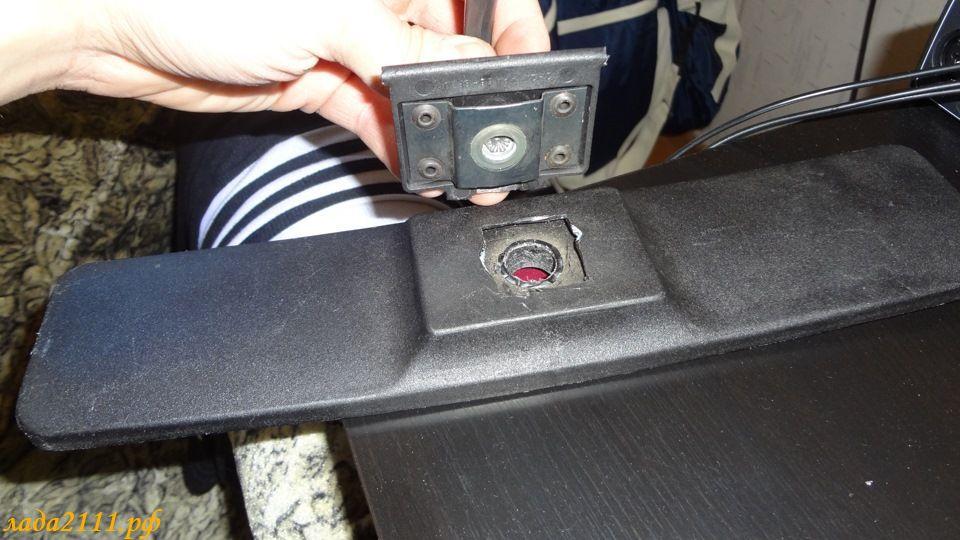 Установка камеры заднего вида ваз 2110
