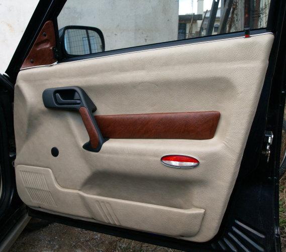 Обтянуть дверь машины своими руками