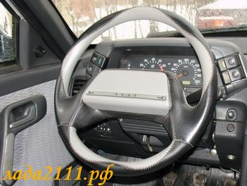 Кожаный руль своими руками