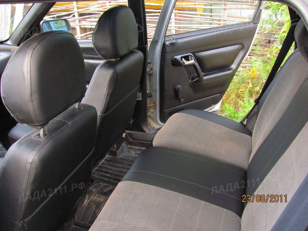 Перетяжка кожвинилом отдельный элемент салона автомобиля ВАЗ 2110-wbr12.