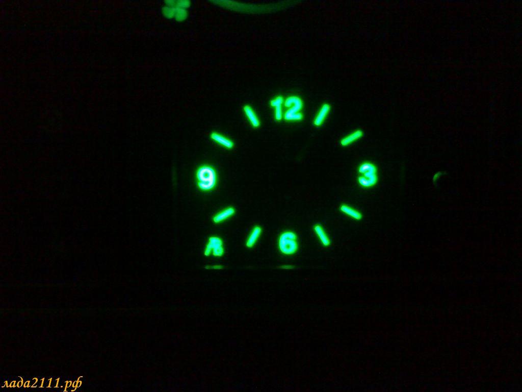 Как сделать подсветку к часам