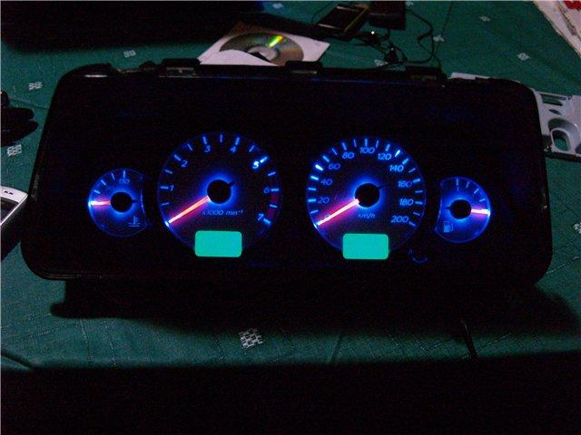 Фото №2 - тюнинг подсветки приборов ВАЗ 2110