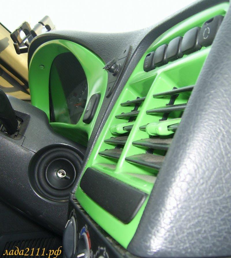 Покрасить пластик в салоне авто своими руками