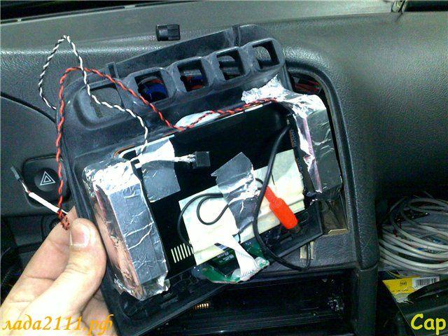 Крепление для планшета в машину своими руками на ваз 2110
