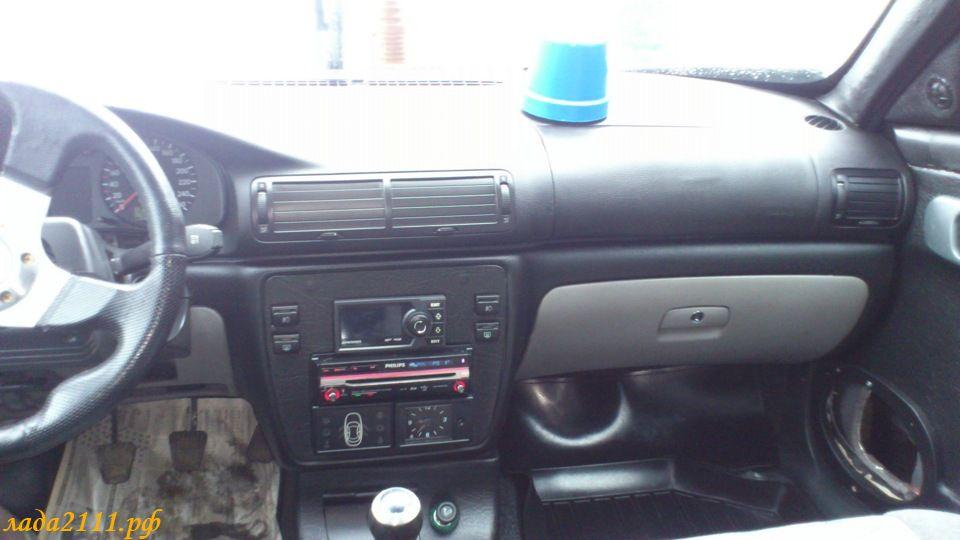 Фото №15 - панель приоры на ВАЗ 2110