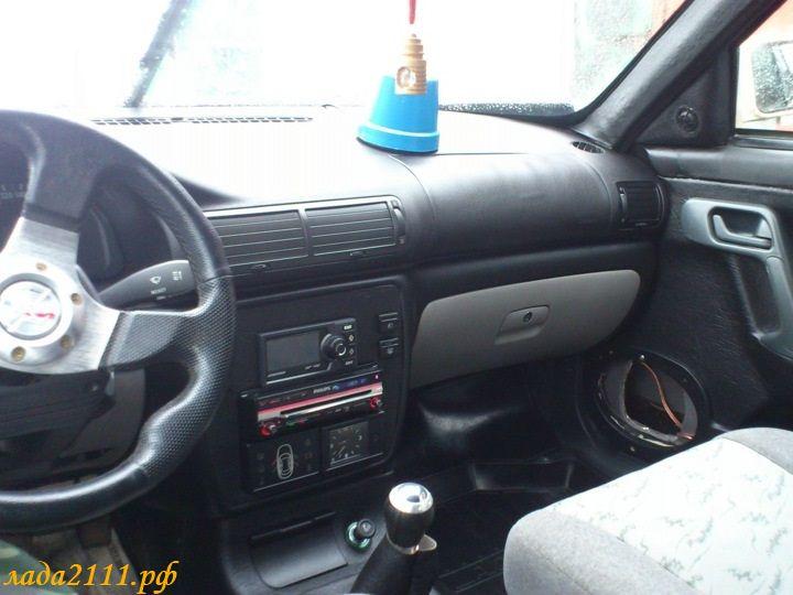 Установка торпедо (панели) от иномарки на ВАЗ 2110
