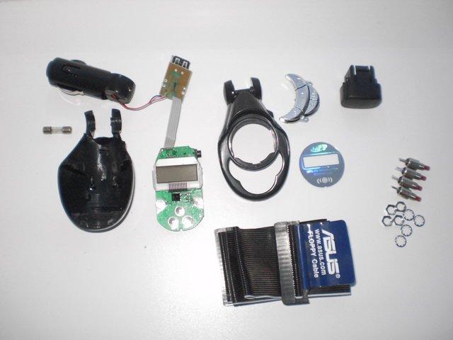 разобранный FM-модулятор