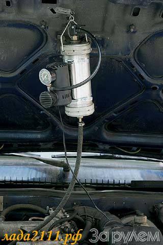 Приспособление для чистки инжектора своими руками