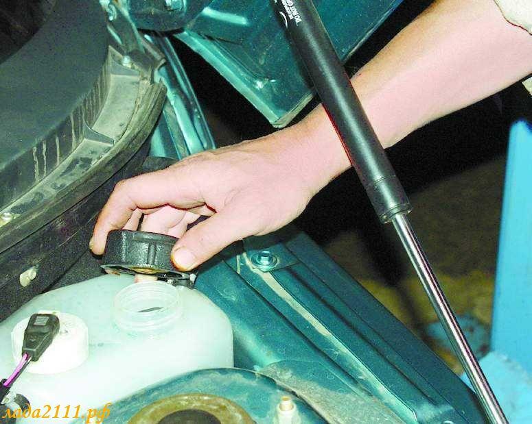 Как снять двигатель на ваз 2110 не