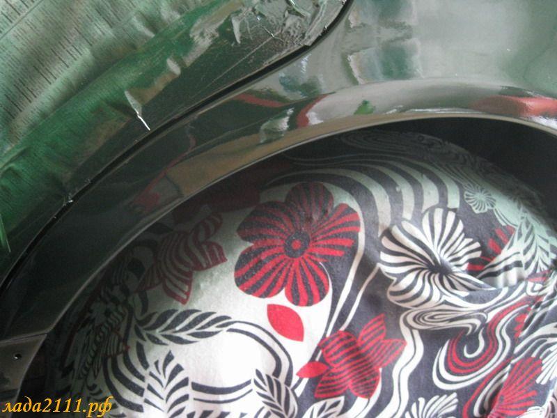 Покраска авто по лаку своими руками 76
