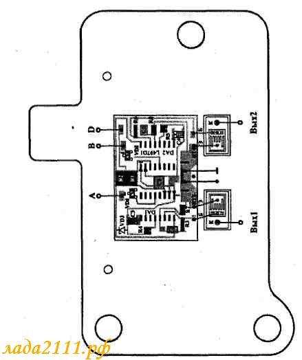 Схема разъема модуля зажигания ваз
