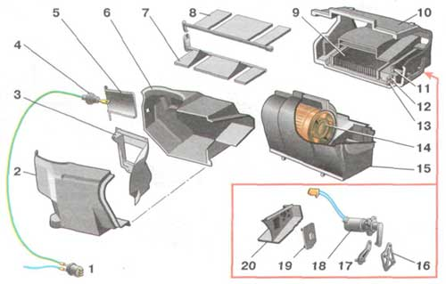 Схема наполнения газов в кислородные балоны