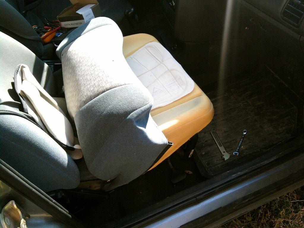 Как сделать водительское кресло своими 850