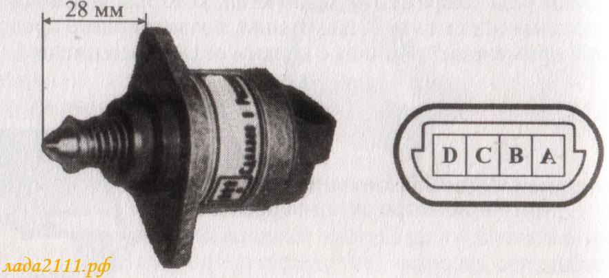 Фото №17 - как проверить мультиметром рхх ВАЗ 2110