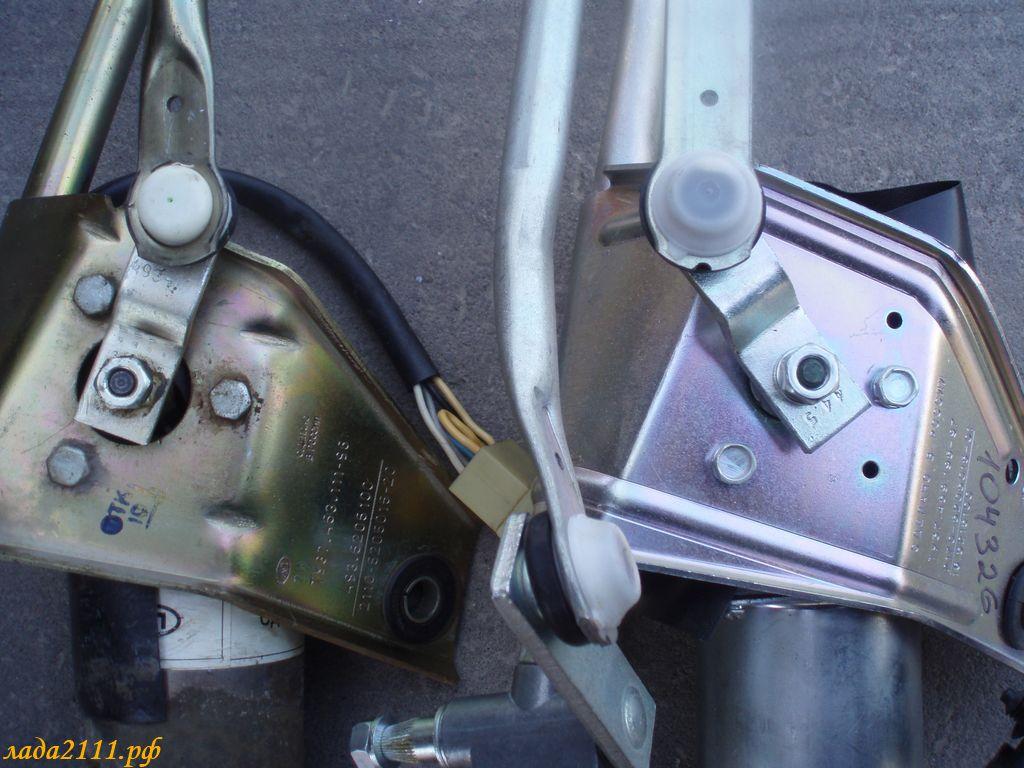 Фото №18 - как поменять трапецию стеклоочистителя ВАЗ 2110