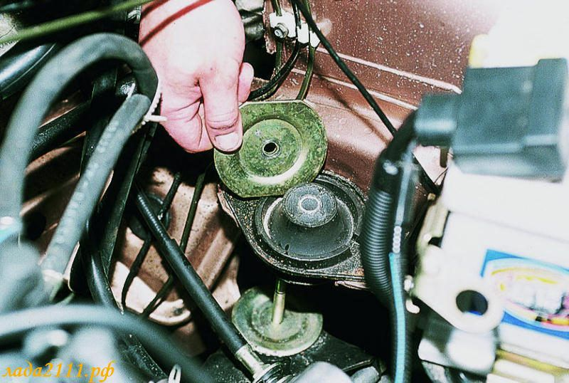 Замена подушек двигателя ваз 2101 своими руками 20