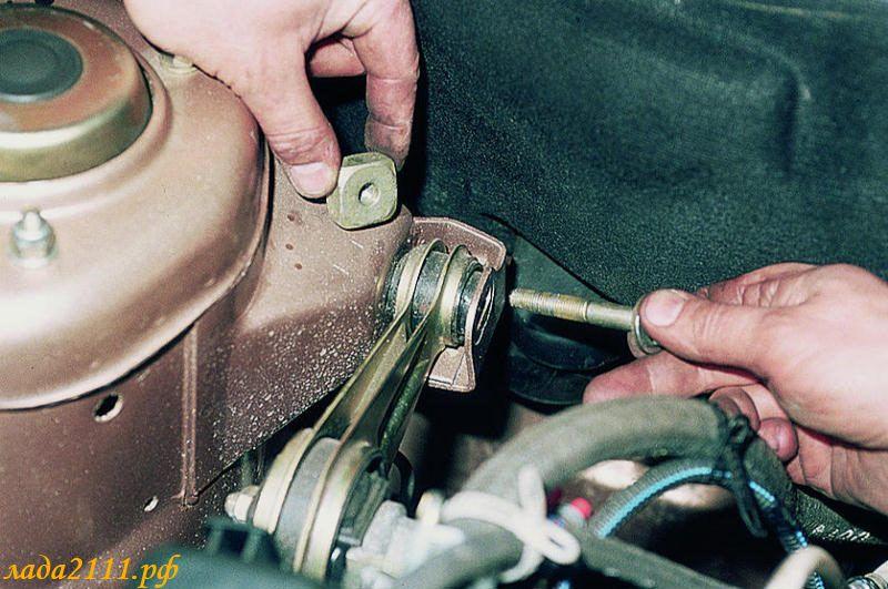 Замена подушки двигателя ваз 2115 своими руками видео