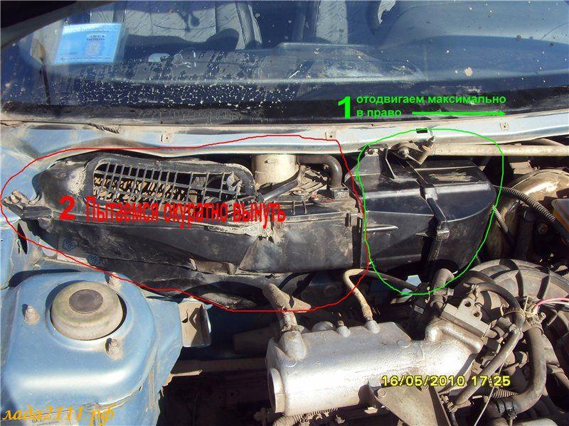 Фото №25 - замена радиатора печки на ВАЗ 2110