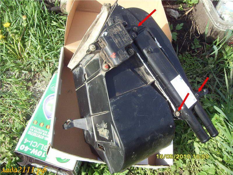 Фото №7 - замена радиатора печки на ВАЗ 2110
