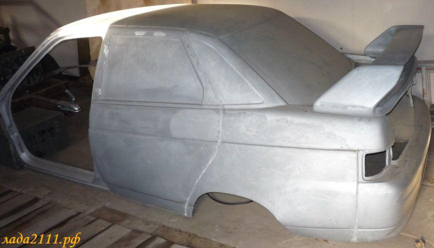 Про детали автомобиля из стеклопластика