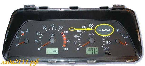 панель VDO ВАЗ 2110.