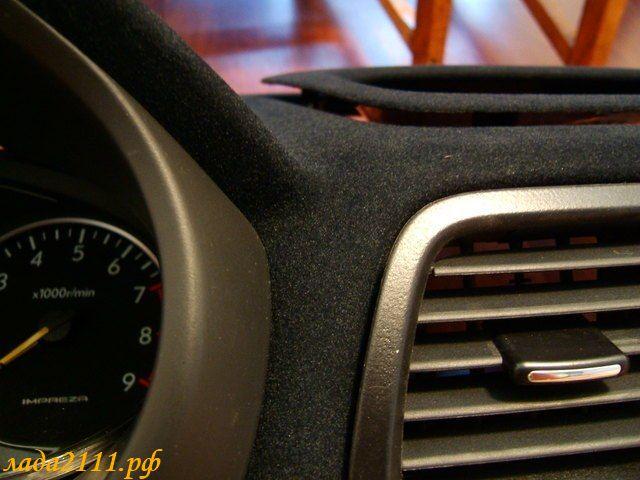 Флокирование салона автомобиля фото