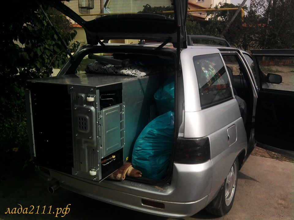 Как сделать багажник на 2111 935