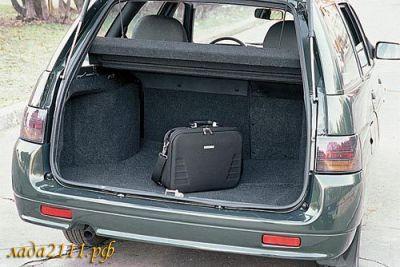 Про объем багажника ВАЗ 2111 универсал