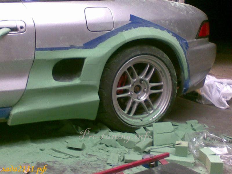 Как сделать автомобильные арки