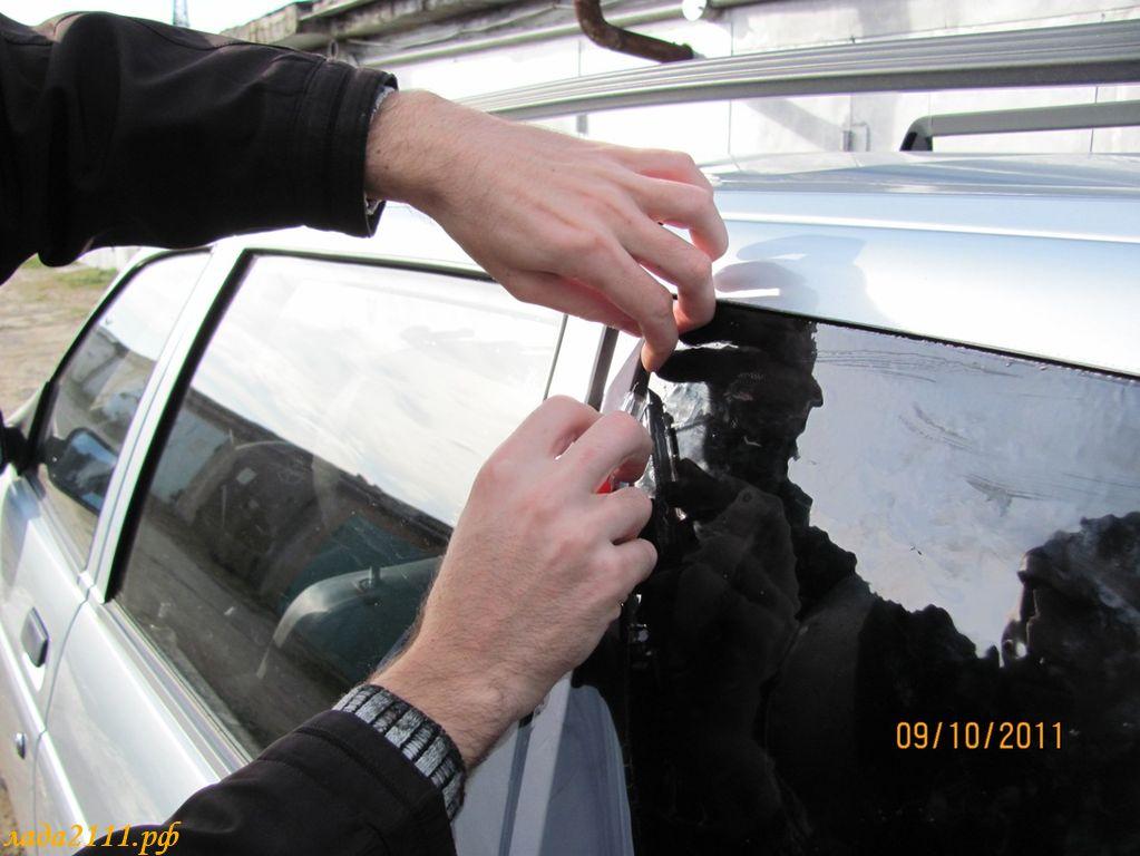 Тонирование стекол, тонировка машины