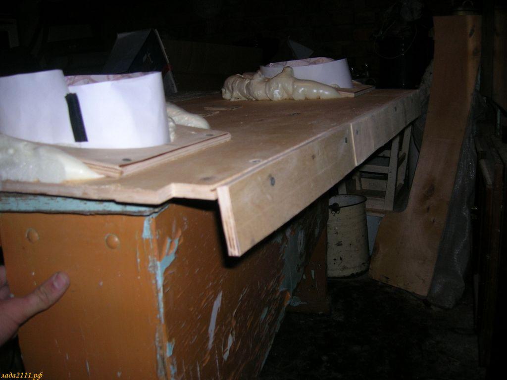 Как сделать деревянную акустическую полку на ваз 2112