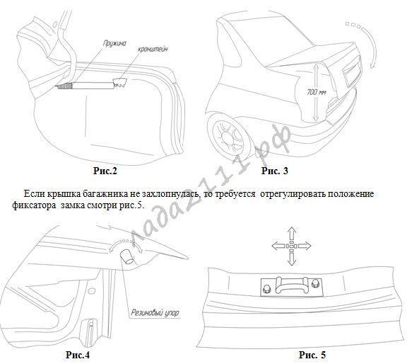 инструкция по установке багажника на приору