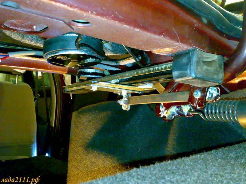 Система открывания багажника своими руками 23