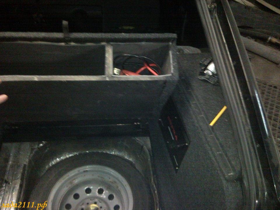 Фальшпол в багажник ваз 2114 своими руками 75