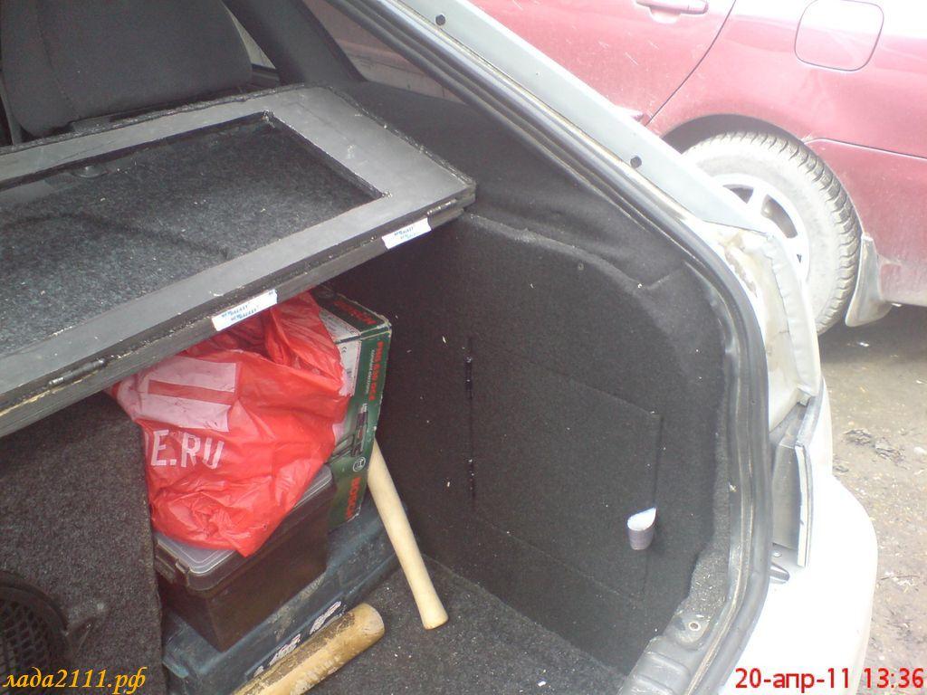 Как сделать обшивку для багажника