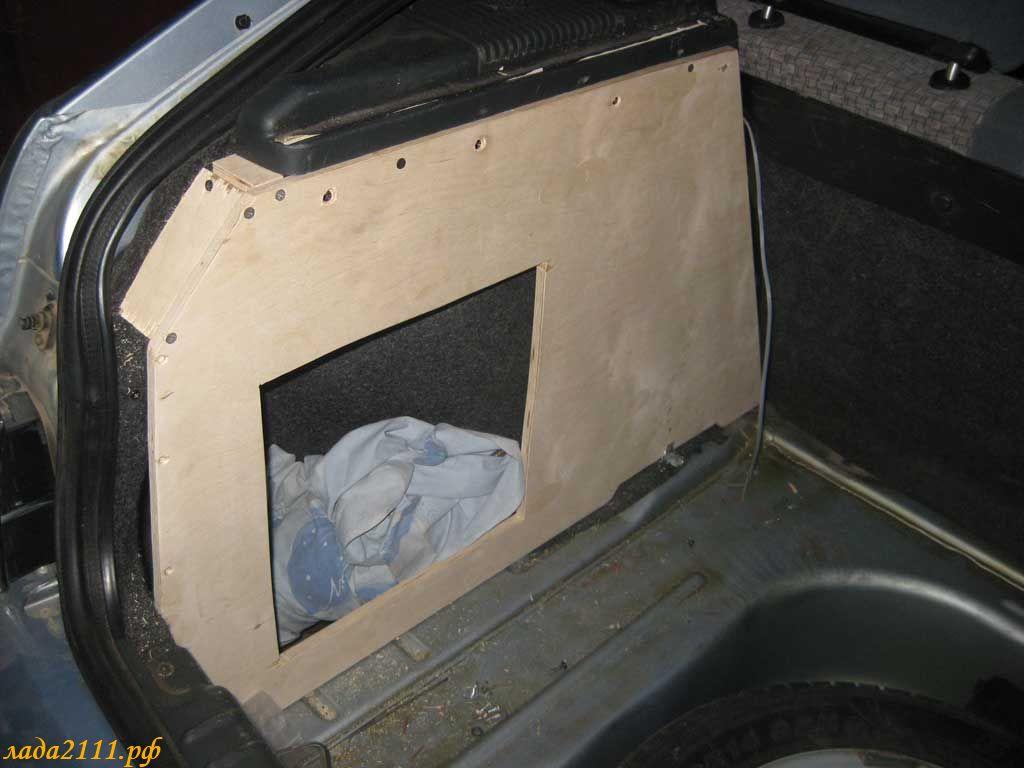 Багажник ваз 2112 своими руками