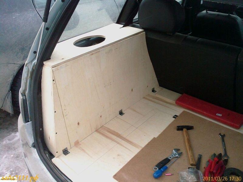 Как сделать багажник 2111