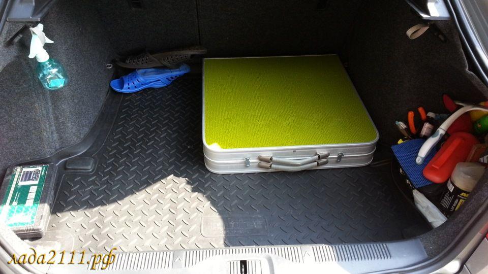 Фальшпол в багажник своими руками