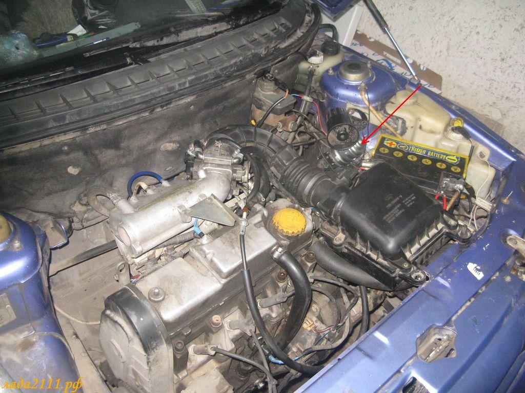 Фото №4 - установка дополнительной помпы на ВАЗ 2110