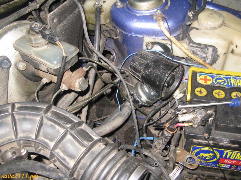 Фото №14 - установка дополнительной помпы на ВАЗ 2110
