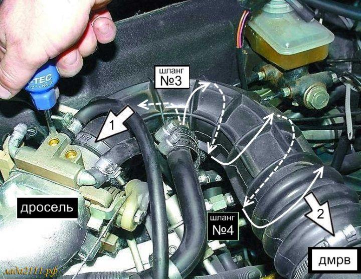 системы вентиляции картера