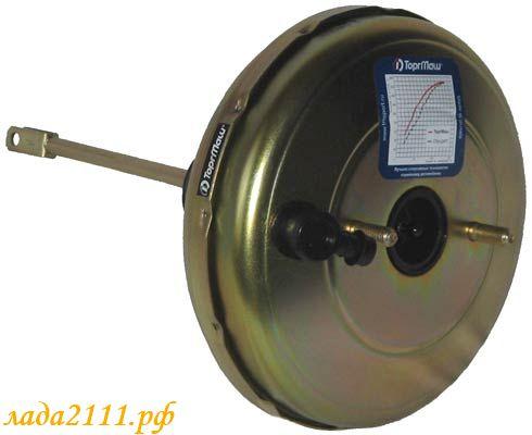 Фото №10 - вакуумный усилитель тормозов ВАЗ 2110 неисправности