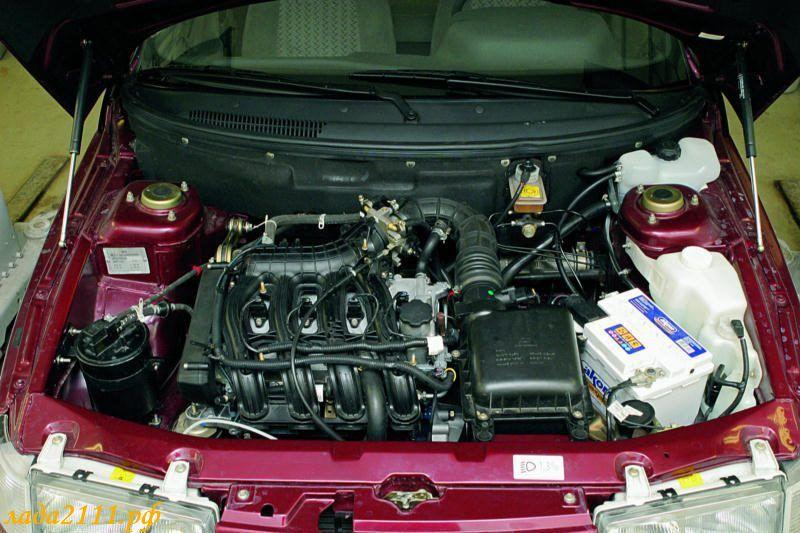 базе двигателей ВАЗ-2111 и