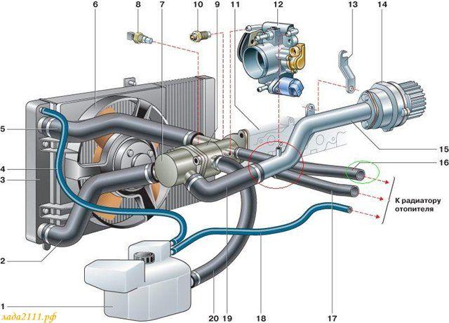 схема 6ти дырочного термостата