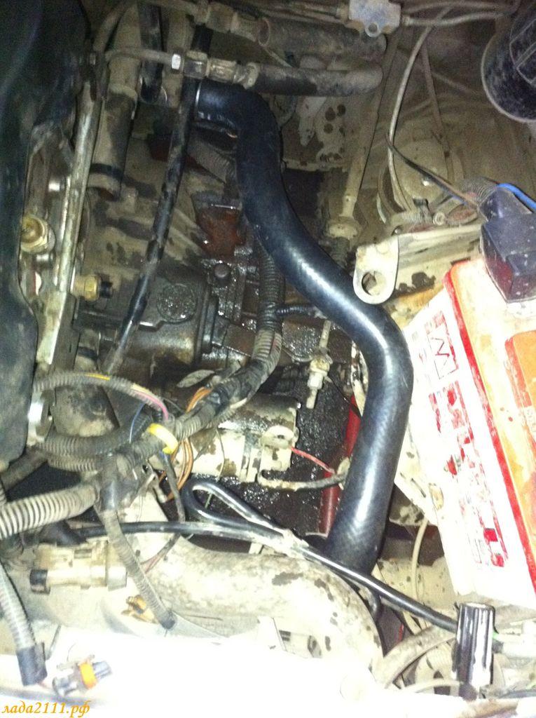 Фото №25 - установка термостата от гранты на ВАЗ 2110