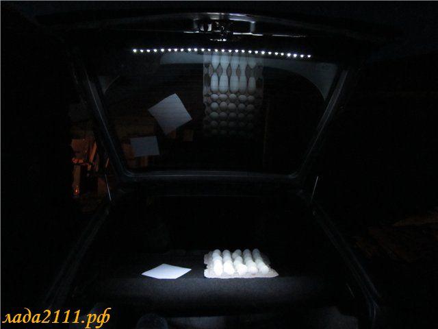 Подсветка дверей ваз 2112