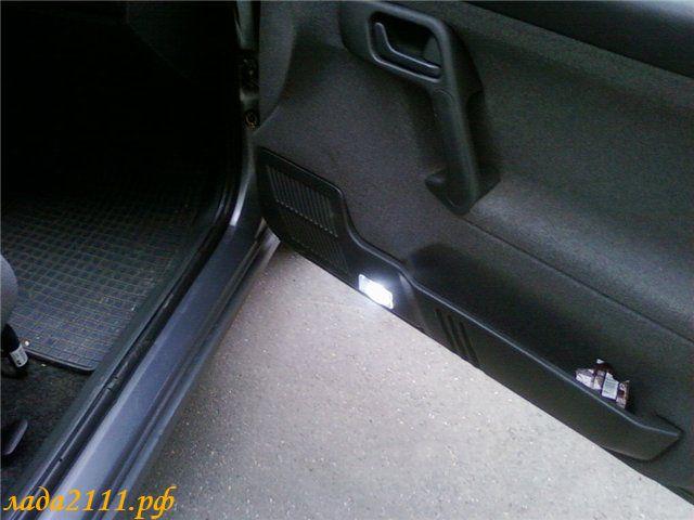 Подсветка дверей ВАЗ 2110 с
